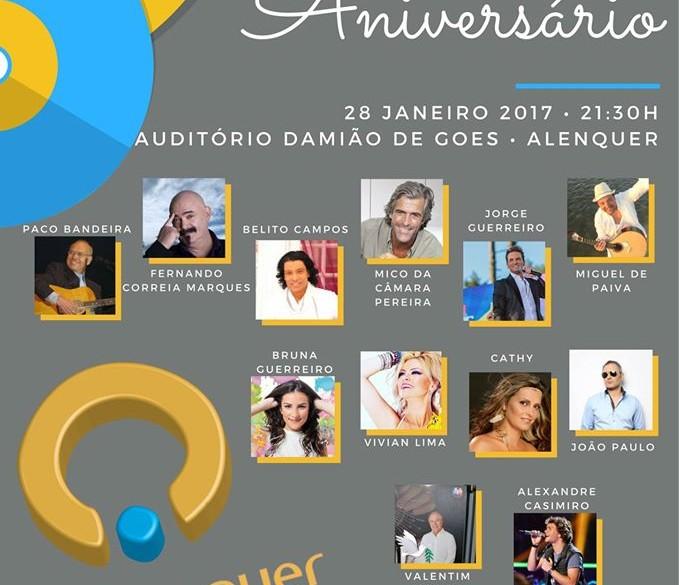 Festa de aniversário da rádio voz de Alenquer